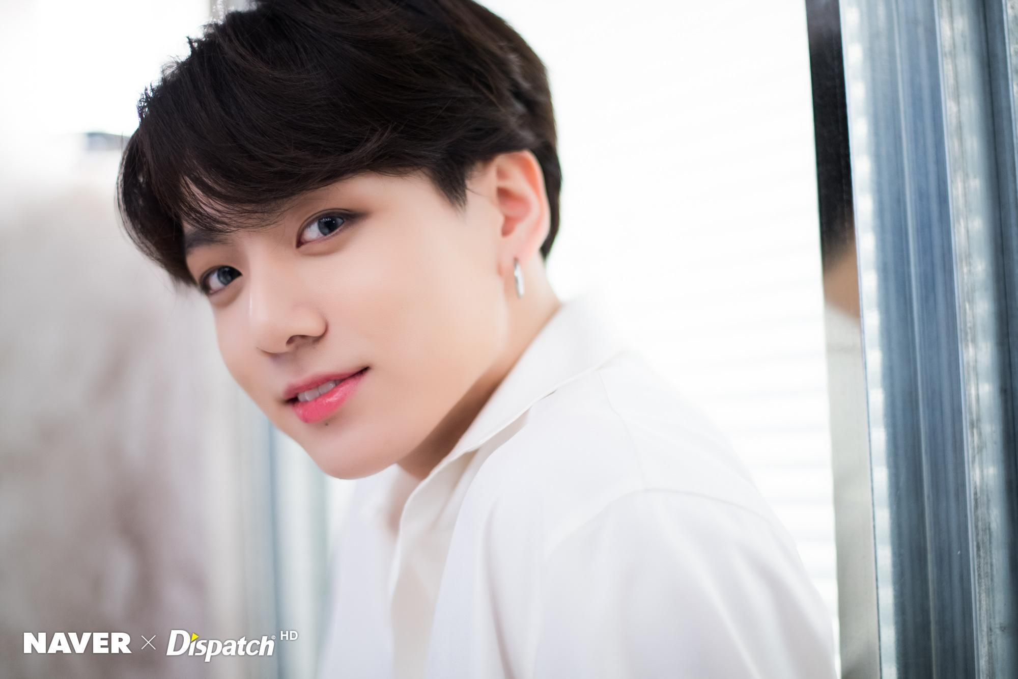 Dispatch X Naver Photoshoot Boy With Luv Jungkook Version Bts