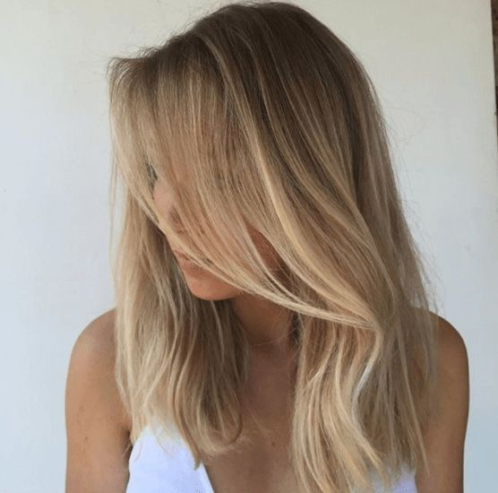 Blonde and brown hair works so seamlessly together. From blonde highlights on br...