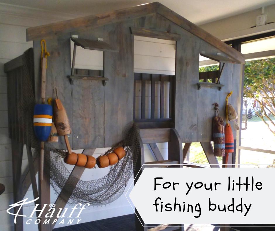 Fishing Themed Bunk Bed Custom furniture, Fishing theme