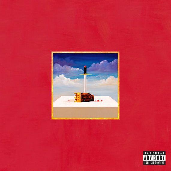 Kanye West My Beautiful Dark Twisted Fantasy Poster By Wheniseeit Beautiful Dark Twisted Fantasy Kanye West Album Cover George Condo