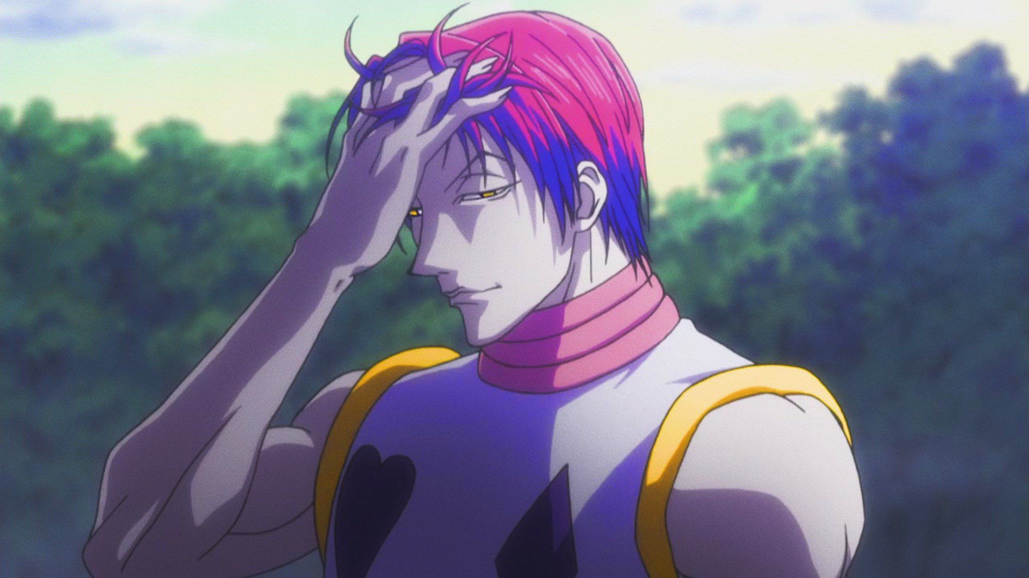 On Twitter Hisoka Hunterxhunter Hisoka Hunter X Hunter