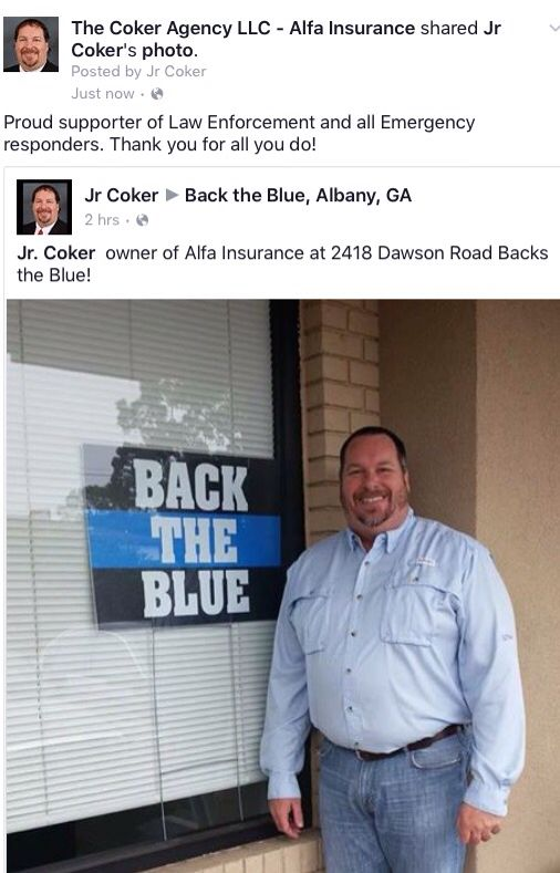 Jr Coker Alfa Insurance 229 420 9772 Junior