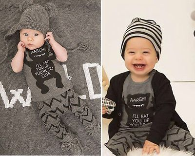 Carters Newborn 3 6 9 12 Months Bodysuit Pants Set Baby Boy Clothes Outfit Gray Baby Boy Outfits Boy Outfits Baby Boy T Shirt