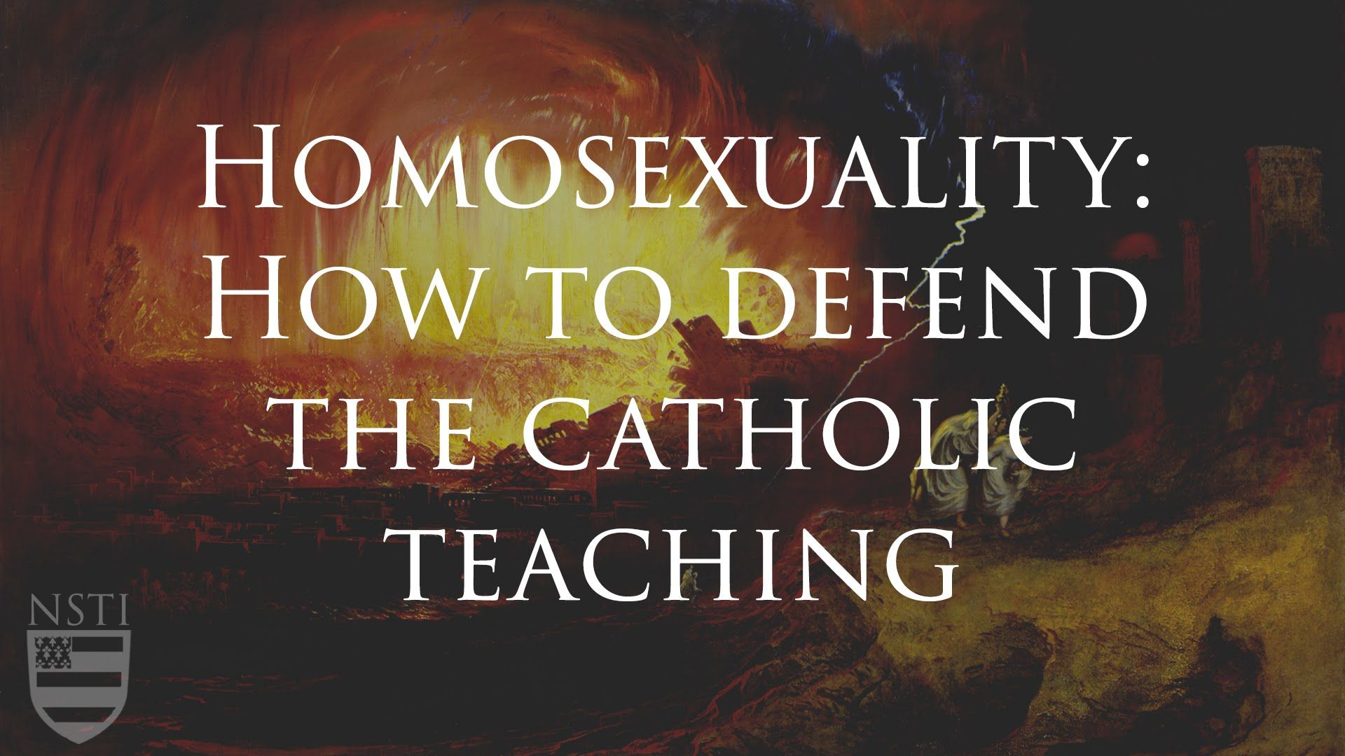 Baltimore catechism homosexuality and christianity