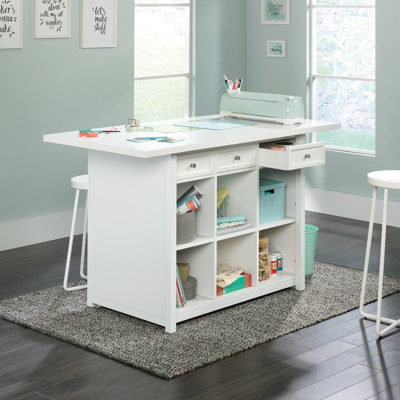 Westlake Craft Table Craft Room Tables Craft Tables With Storage Craft Room Design