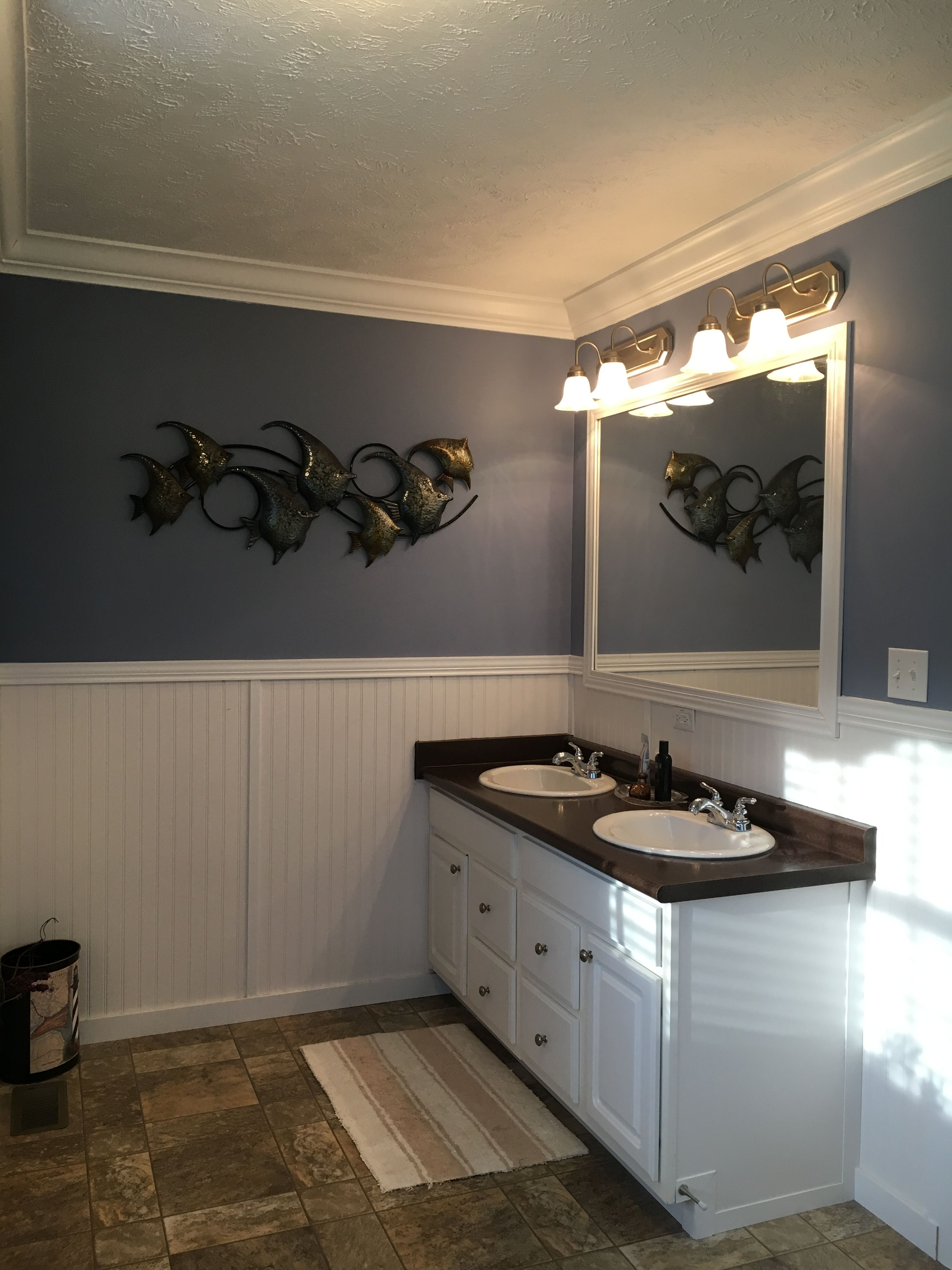 Sherwin Williams Bracing Blue Dining Room Paint Bathroom Paint Colors Blue Blue Bathroom Paint