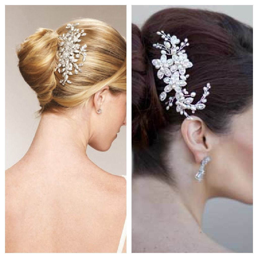 Hair Comes the Bride, Decorative Bridal Hair combs, The Knot