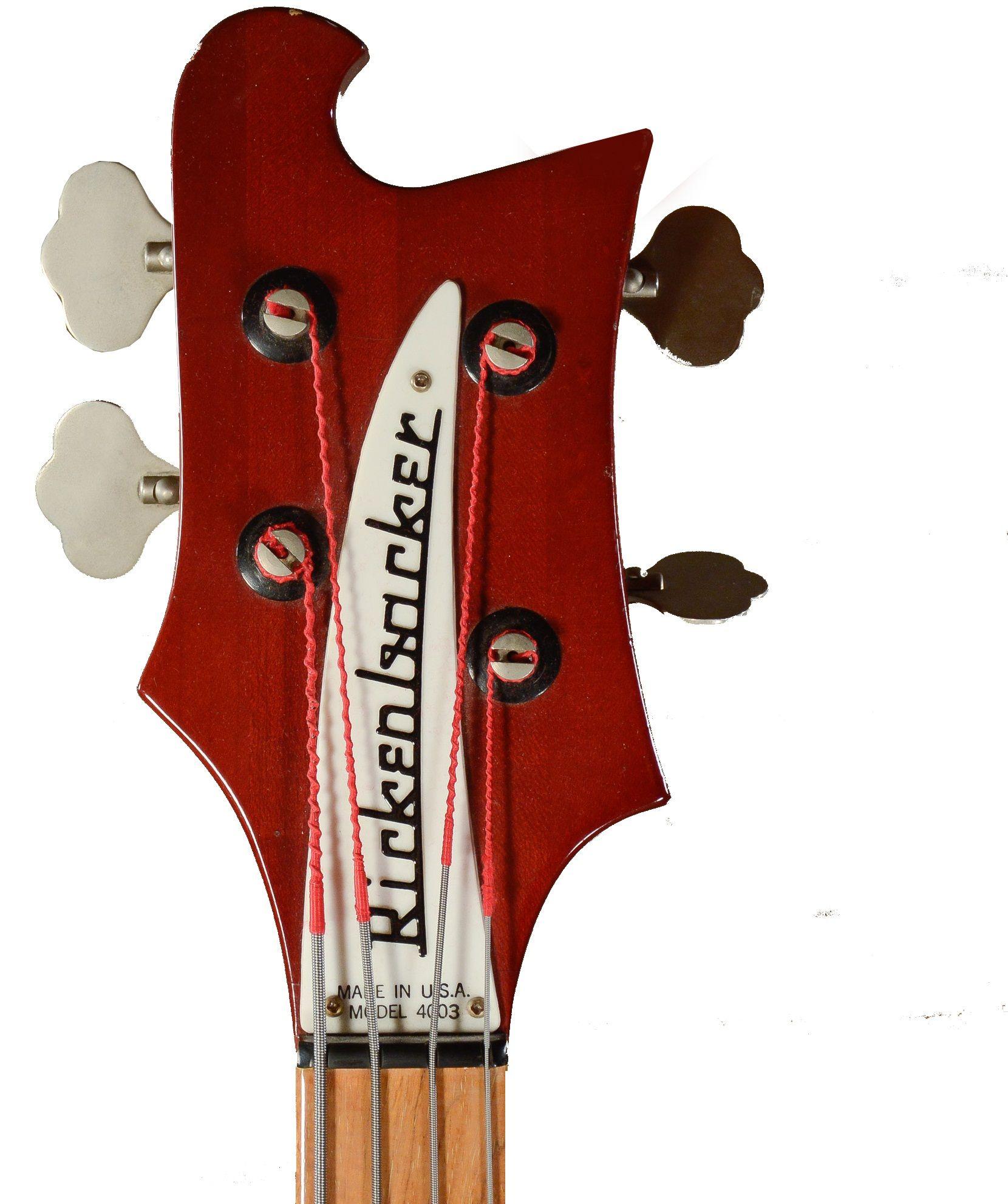 Rickenbacker 4003S Bass Guitar in Ruby Guitar guy