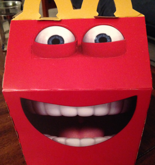 New happy meal box... | Laugh | Pinterest | Happy meal box and Humor