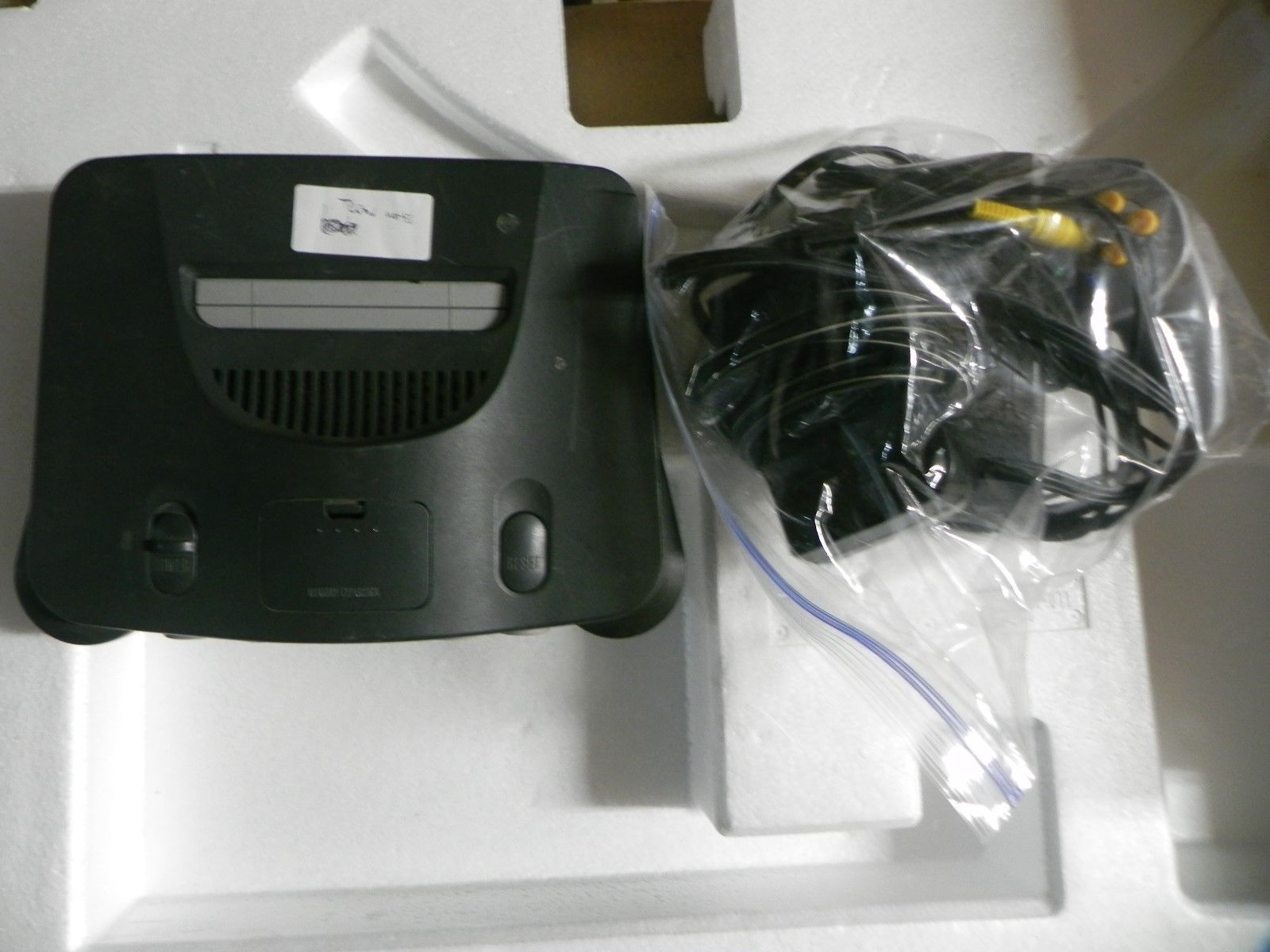 H2 Nintendo 64 N64 Charcoal Grey Console Complete Tested