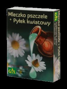 Mleczko pszczele :)  http://gal.com.pl/pl/ulotki-suplementy/39-mleczko-pszczele-pylek-kwiatowy.html