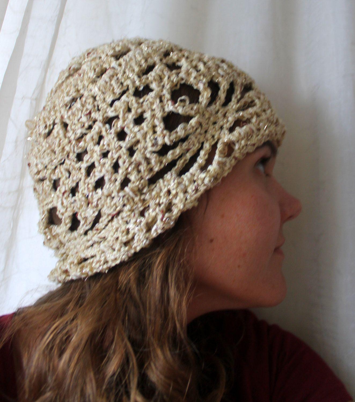074db4f9ddd Tan Crochet Beanie