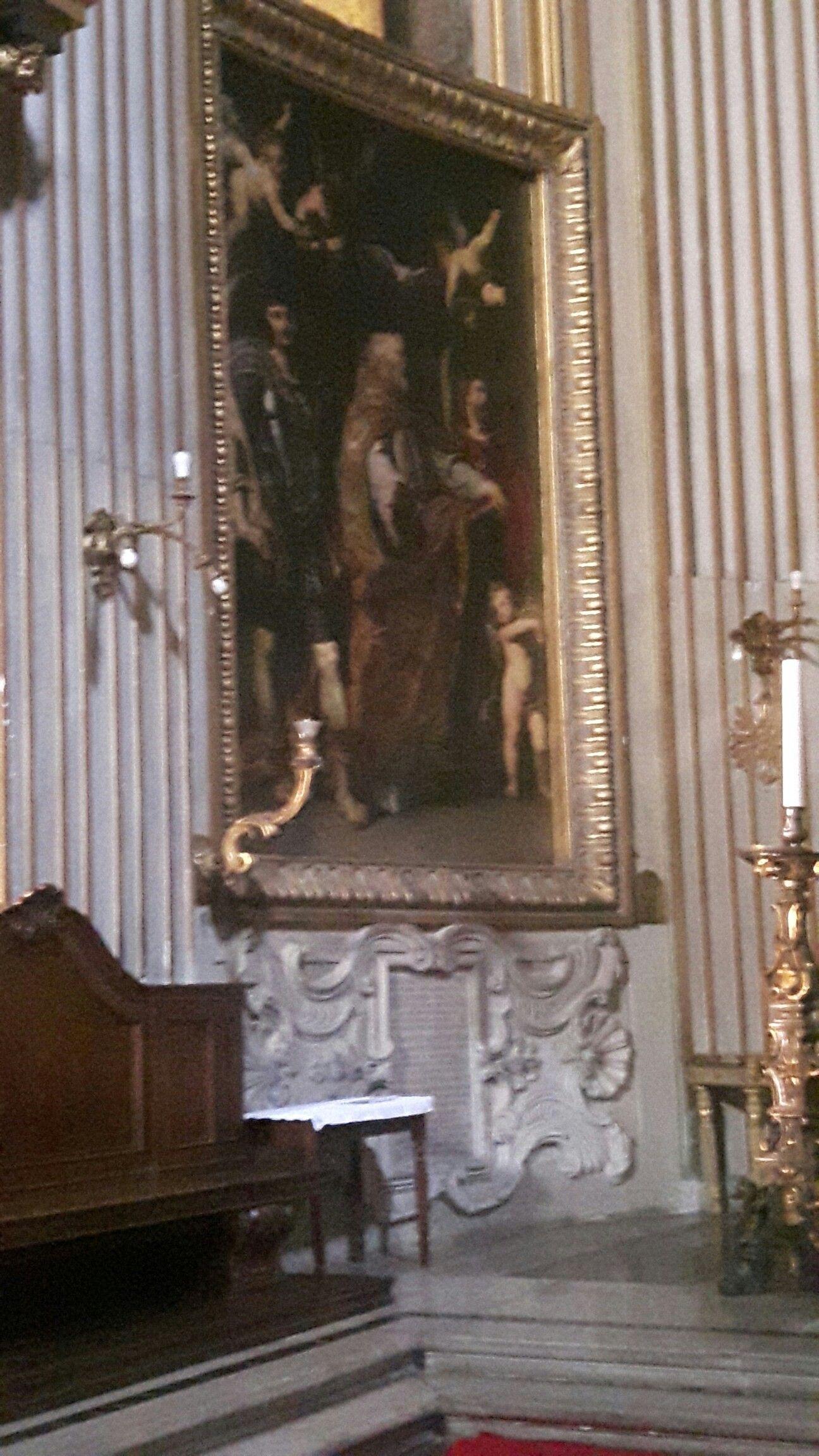 Abside Di Chiesa Nuova A Roma Santi Gregorio Papia Mauro Lato