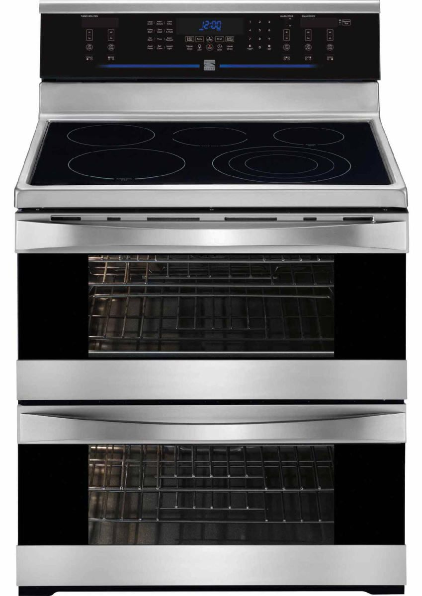 The Kenmore Elite 97723 Double Oven Electric Range