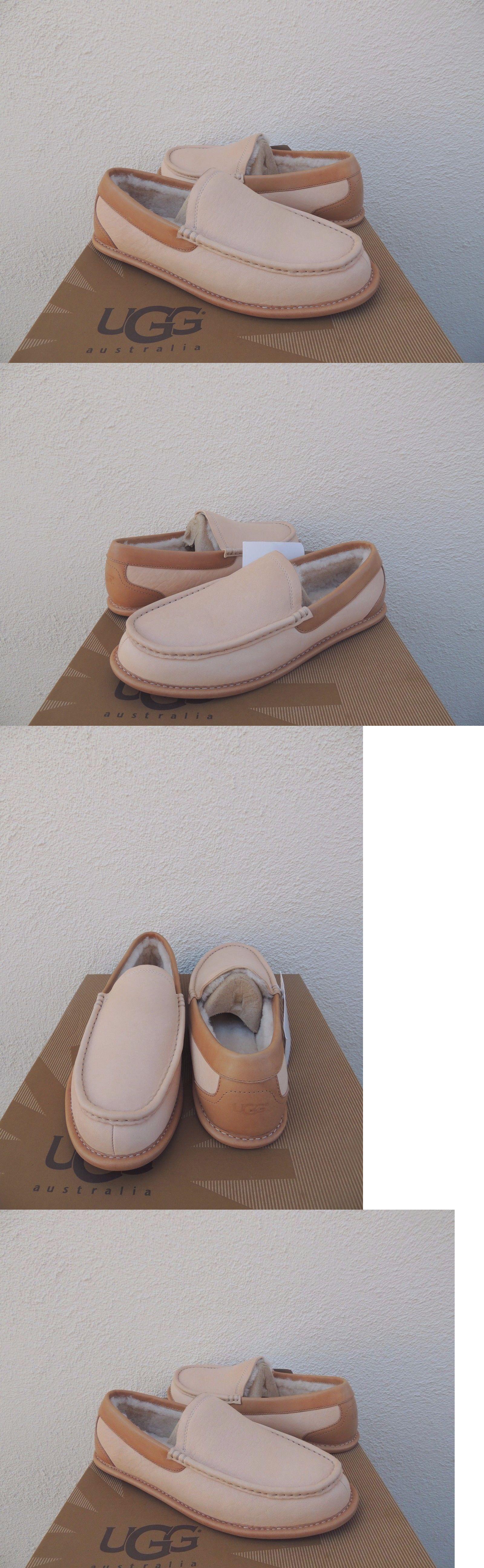 b9ebd88b0dd Slippers 11505: Ugg Lorne 1978 Collection Leather Sheepskin Slippers ...