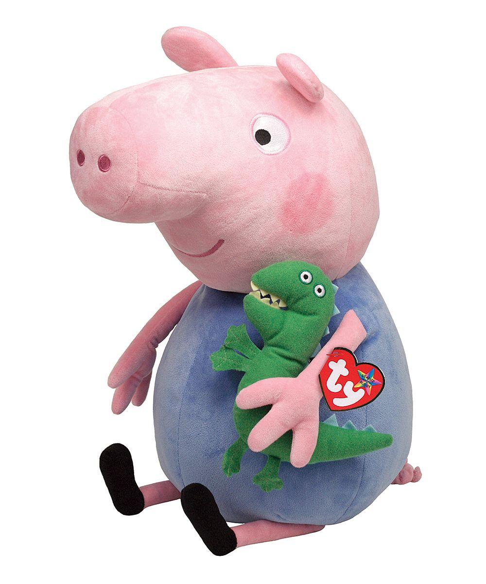 566d456710b Peppa Pig 15   George Beanie Babies Plush