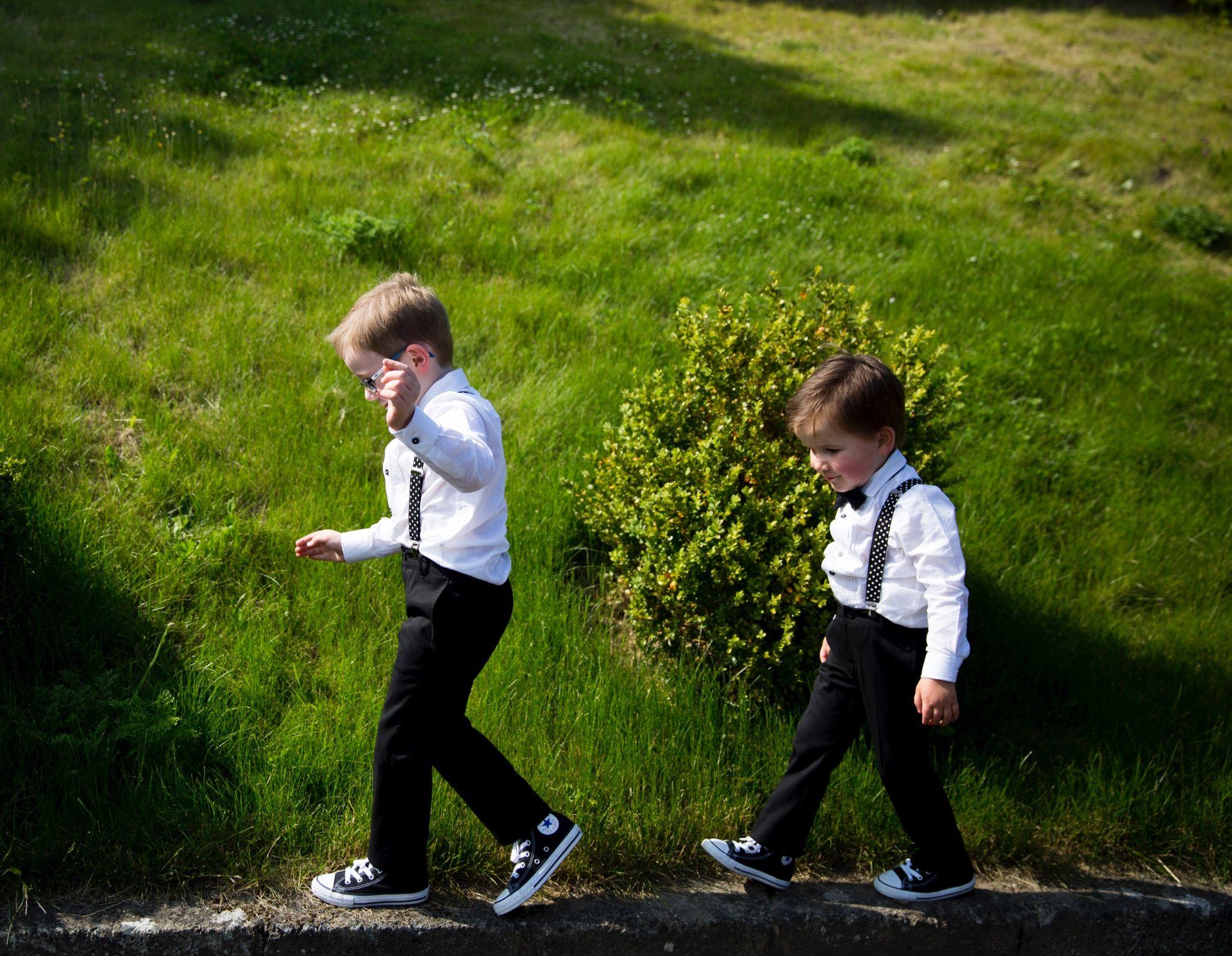 #wedding #pageboys #braces #converse #bellinghamcastle #nephews #clairebaker #juliecumminsphotography