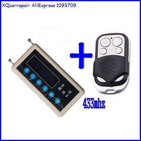 XQCarRepair keyless entry remote control detector 433mhz remote code
