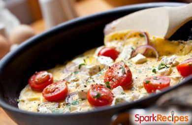 Quick, easy and super filling, this omelet is a protein-packed breakfast powerhouse!
