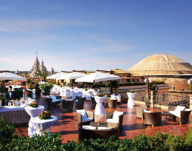5 star Luxury Hotel in Rome Banqueting Grand Hotel De La ...