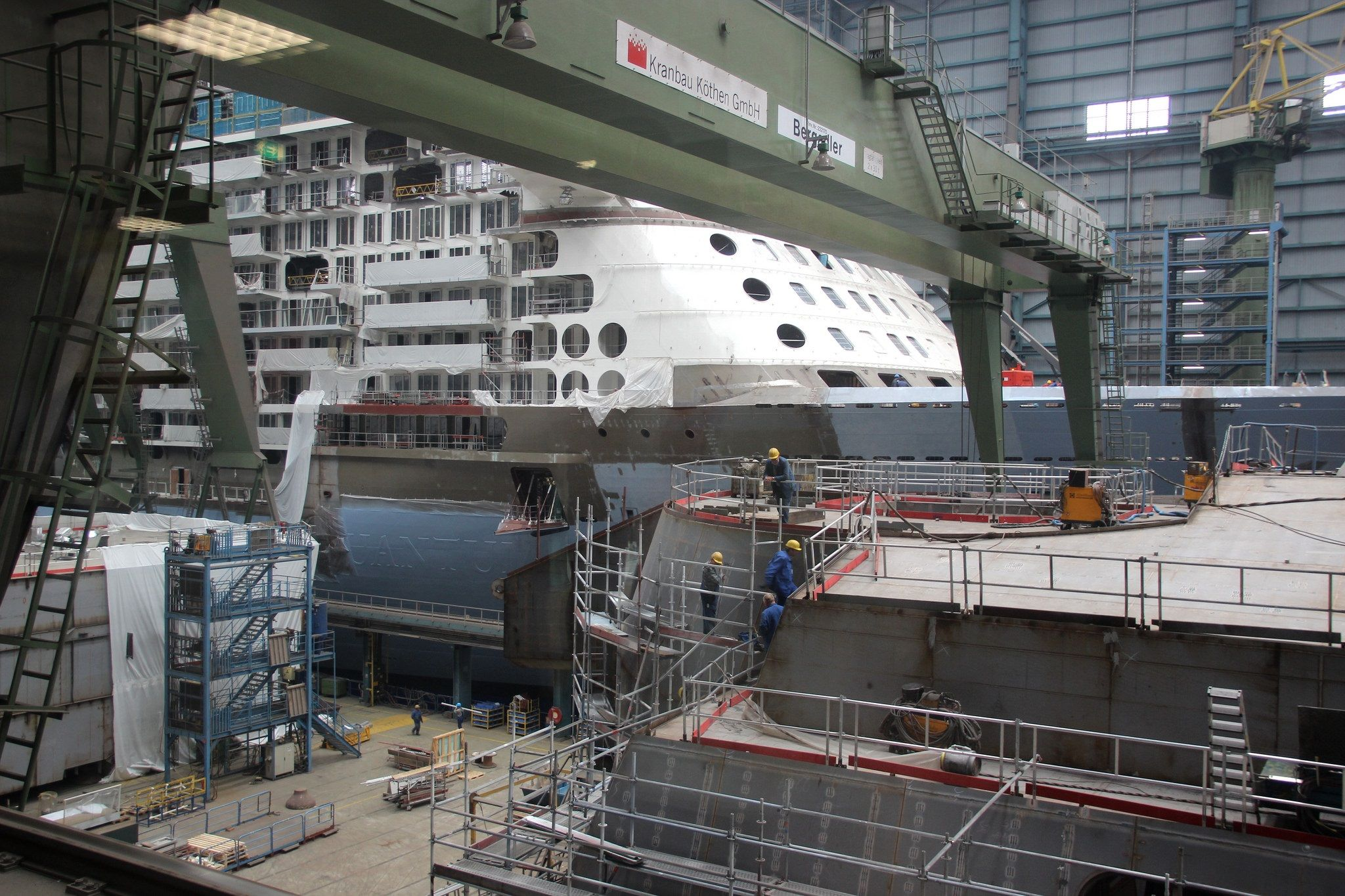 Pin By Lloyd On Quantum Of The Seas Construction At Meyer Werft Papen