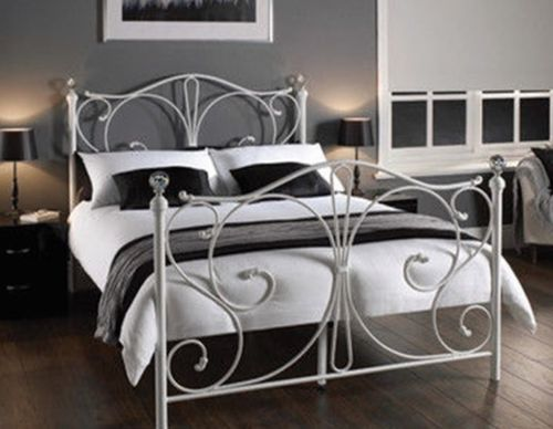 Classical Christina King Single Double Queen King Size White