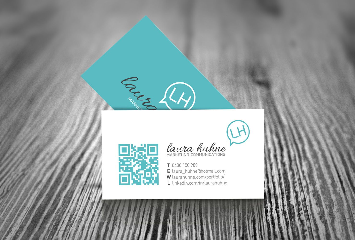 Marketing Business Cards in Teal by Graphic Source, Perth ...
