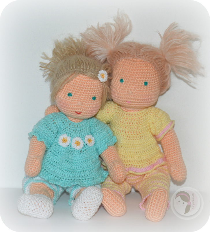 Make It Waldorf Inspired Baby Doll Free Crochet Pattern Crochet