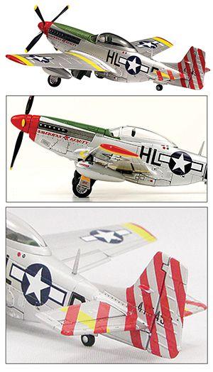 P-51D Mustang 1/18 Display Model | Proyectos que intentar ...