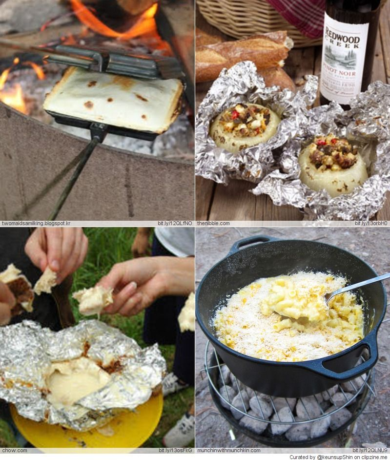 Camping Recipes And Cooking Tips: Camping Meals, Camping