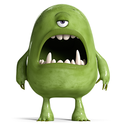 Monsters 4 Icon Png 256 256 Monster Drawing Monster Scary Monsters