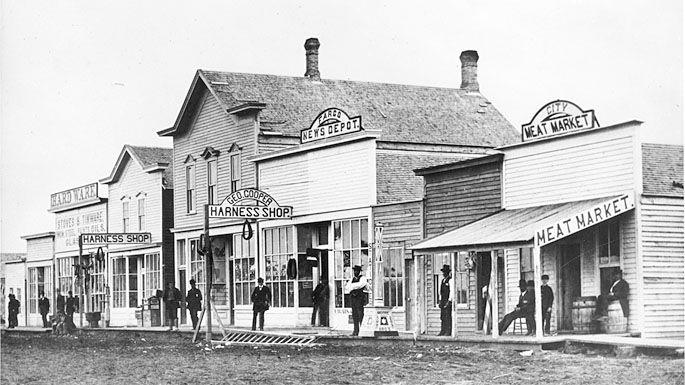 Front Street In 1878 Fargo History History Fargo North Dakota Fargo