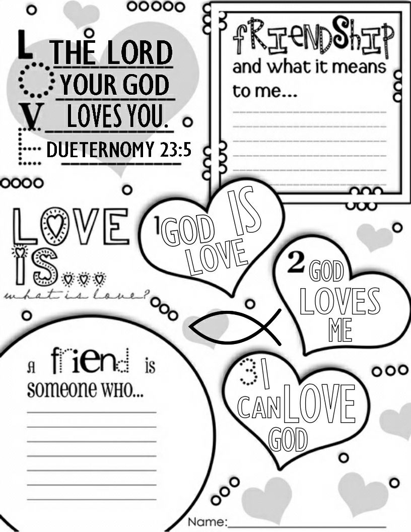 Valentine's Day christian printable. I can only take