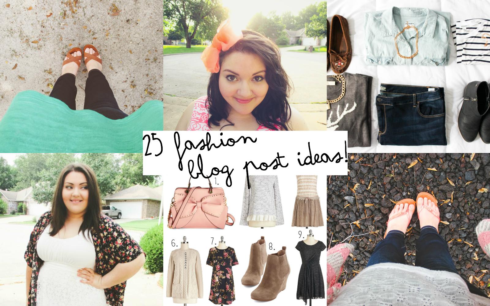 Blog post ideas fashion 22
