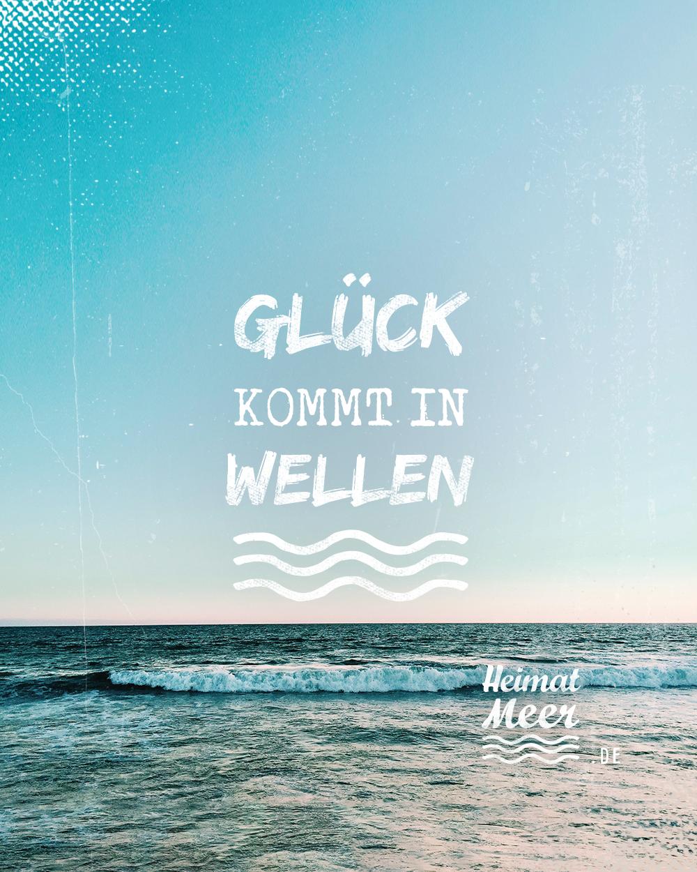 Gluck Kommt In Wellen Mee H R Zitat Meer Gedichte Zur Hochzeit Bilder