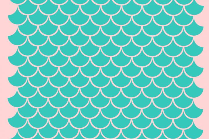 Mermaid scales svg (62691) SVGs Design Bundles