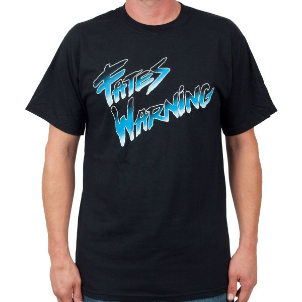 "Fates Warning ""Classic Logo"" T-Shirt at http://www.indiemerch.com"