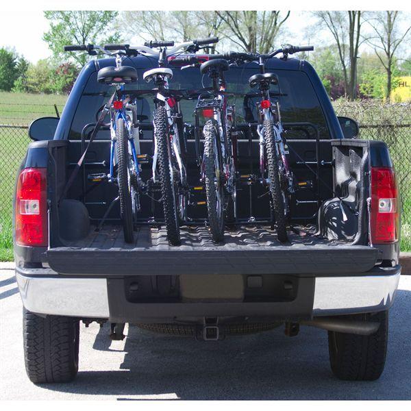 elevate outdoor truck bed bike rack 4