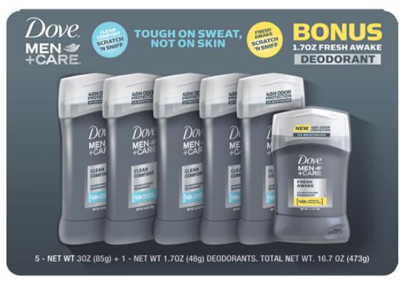 Costco Com Dove Men Care Clean Comfort Deodorant 5 Pack Fresh Awake Deodorant Bonus Only 9 97 Shipped Gift With Purcha Dove Men Care Deodorant Dove Men