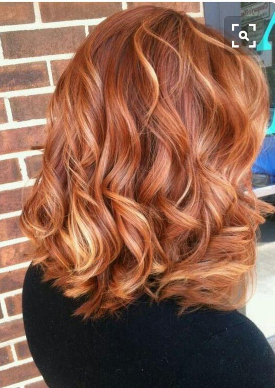 45 Copper Red Ginger Hair Color Ideas Pinterest Ginger Hair