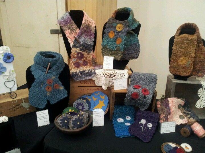 Art Scarves Display By Lynn Larson Designs Craft Booth Displays Show Ideas