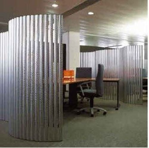 office design with wood trim glass wall Medium 80 x 80 pixel