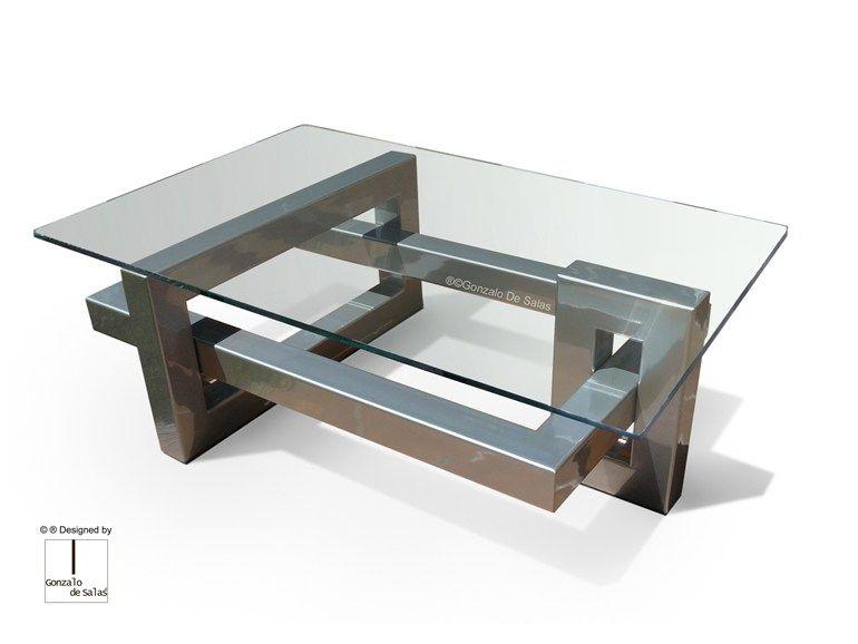 Tavolini In Vetro E Acciaio : Tavolini da fumo moderni con tavolini da salotto moderni vetro