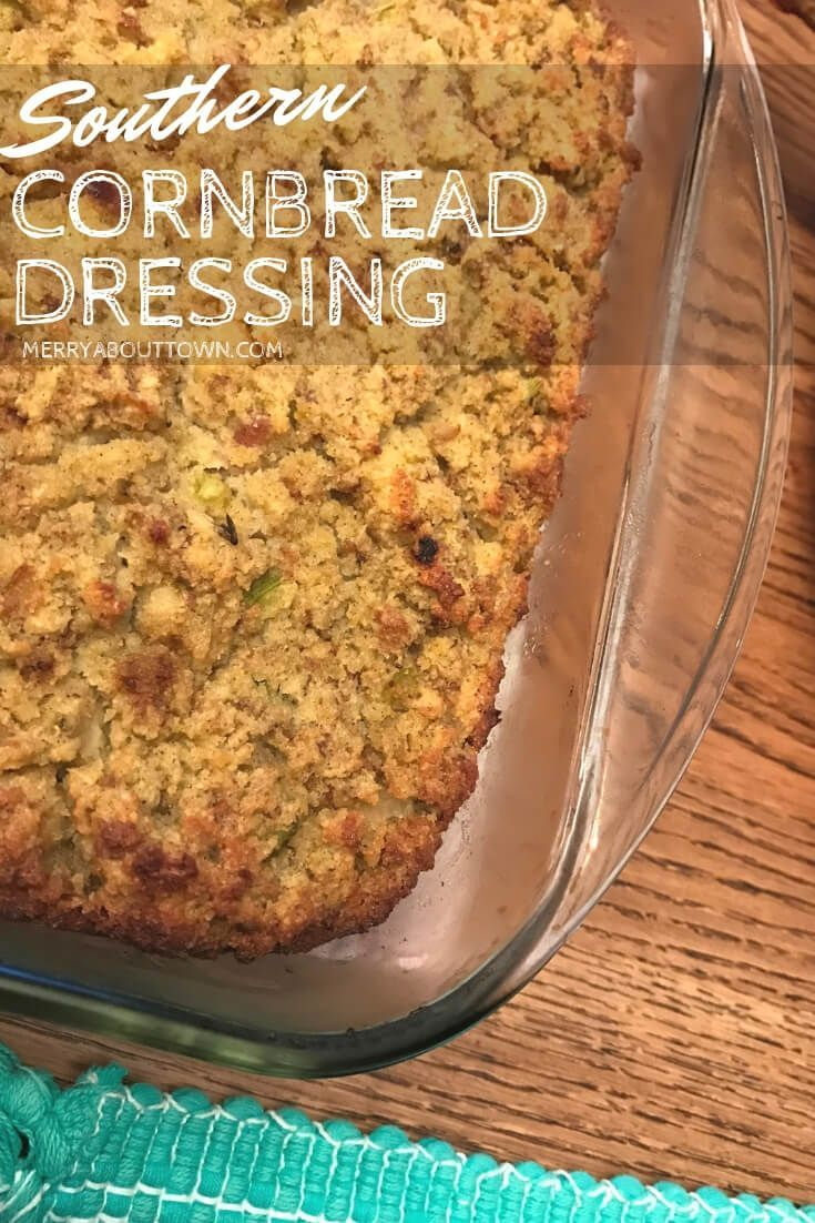 CORNBREAD DRESSING - The Southern Lady Cooks