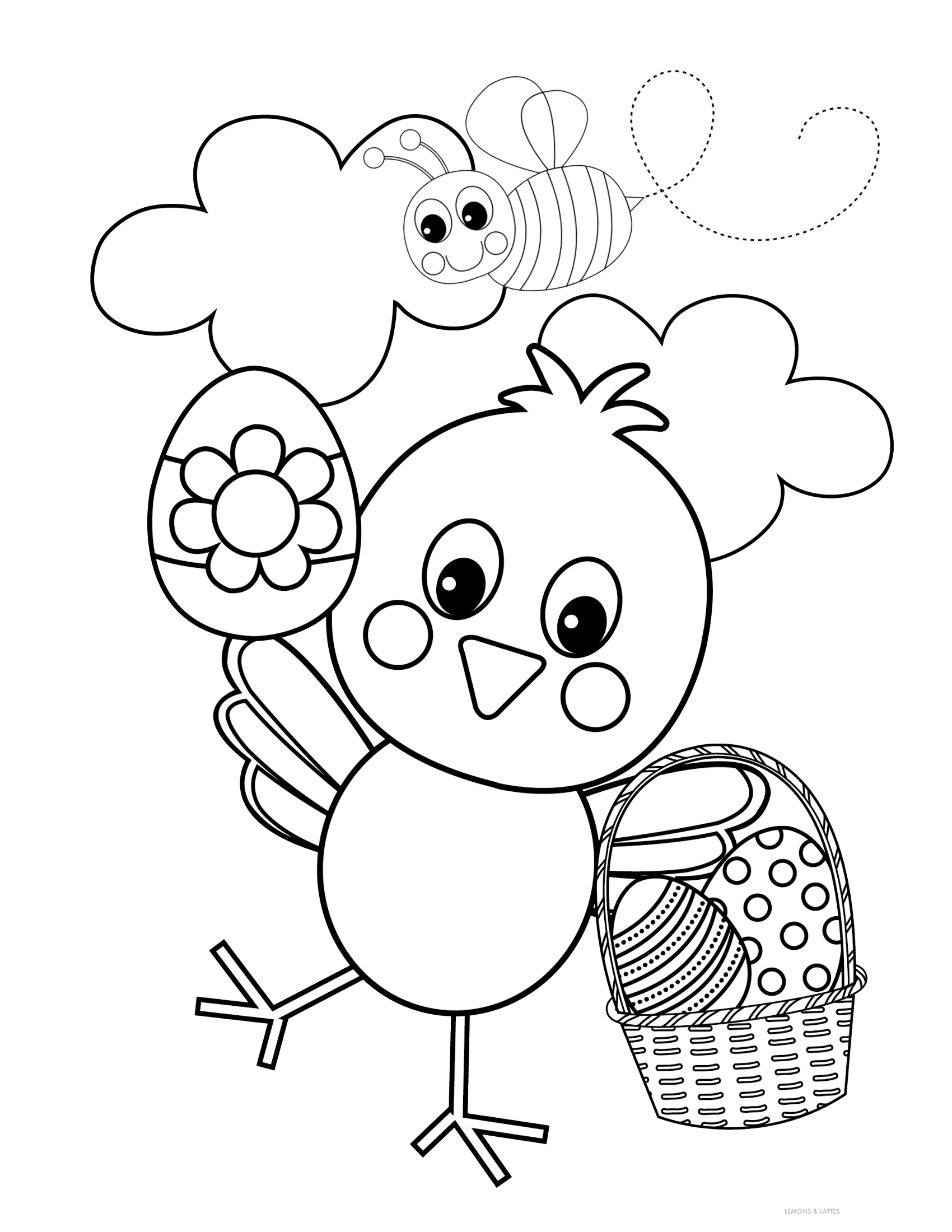Free Easter Coloring Pages (free printables) in 2020