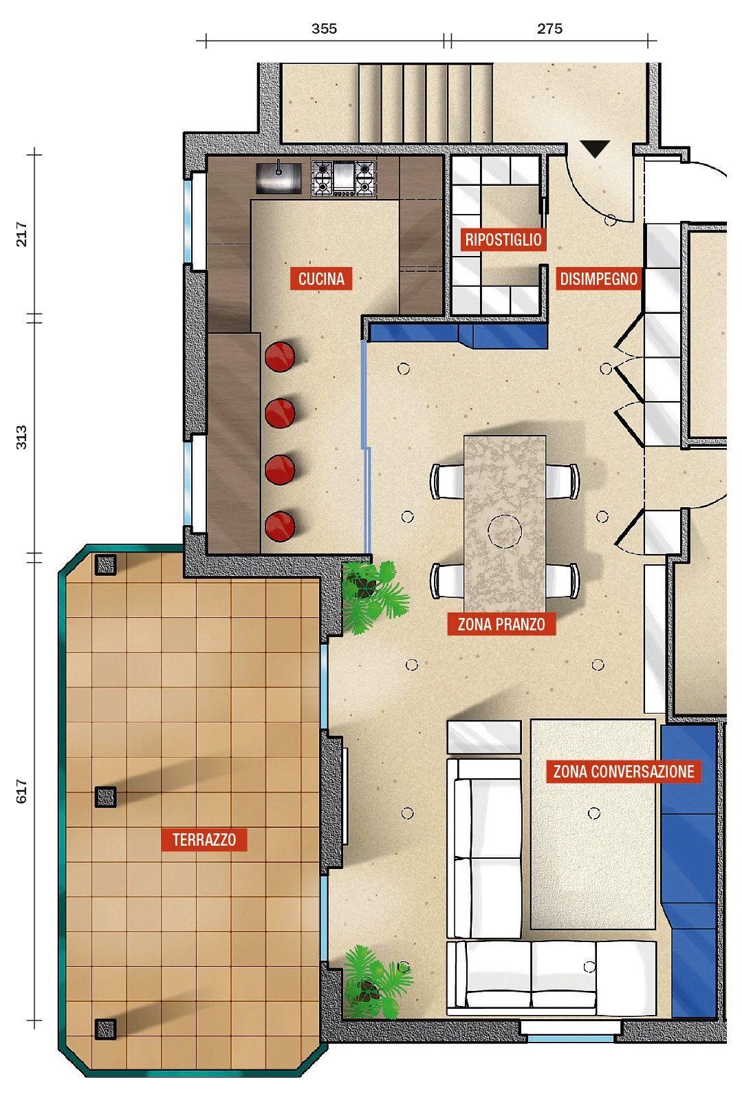PROGETTO-CUCINA-1(SPECIALE) | arredamento | Pinterest | Cucina ...