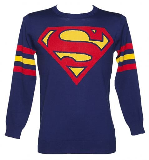 Superman t-shirt.