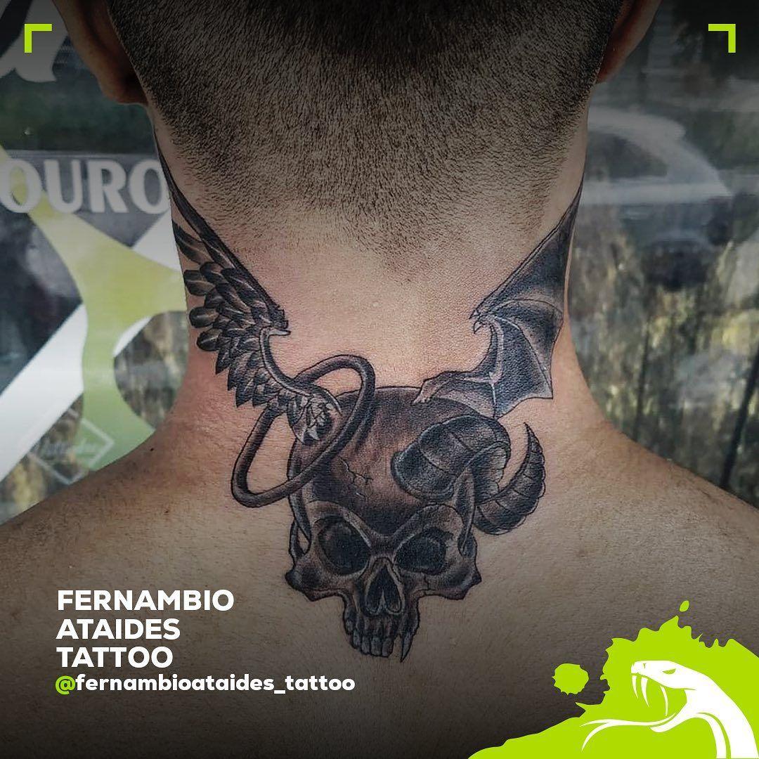Obra do artista @fernambioataides_tattoo utilizando nossa rotativa Mamba Negra.  Trabalho executado antes do período de restrição do COVID-19). ***FIQUE EM CASA*** • • • • • • • #mambanegraink #mambanegra #mambanegramachines #proteammambanegraink #ink #tatuagem #tatuagens #tattoo #tattoos #tattooequipment #tattooartist #tatuagembrasil #artenapele #forevertattoo #tattooart #tattolife #tattooink #maquinasdetatuar #maquinadetatuar #tattoomachine #tattoomachines