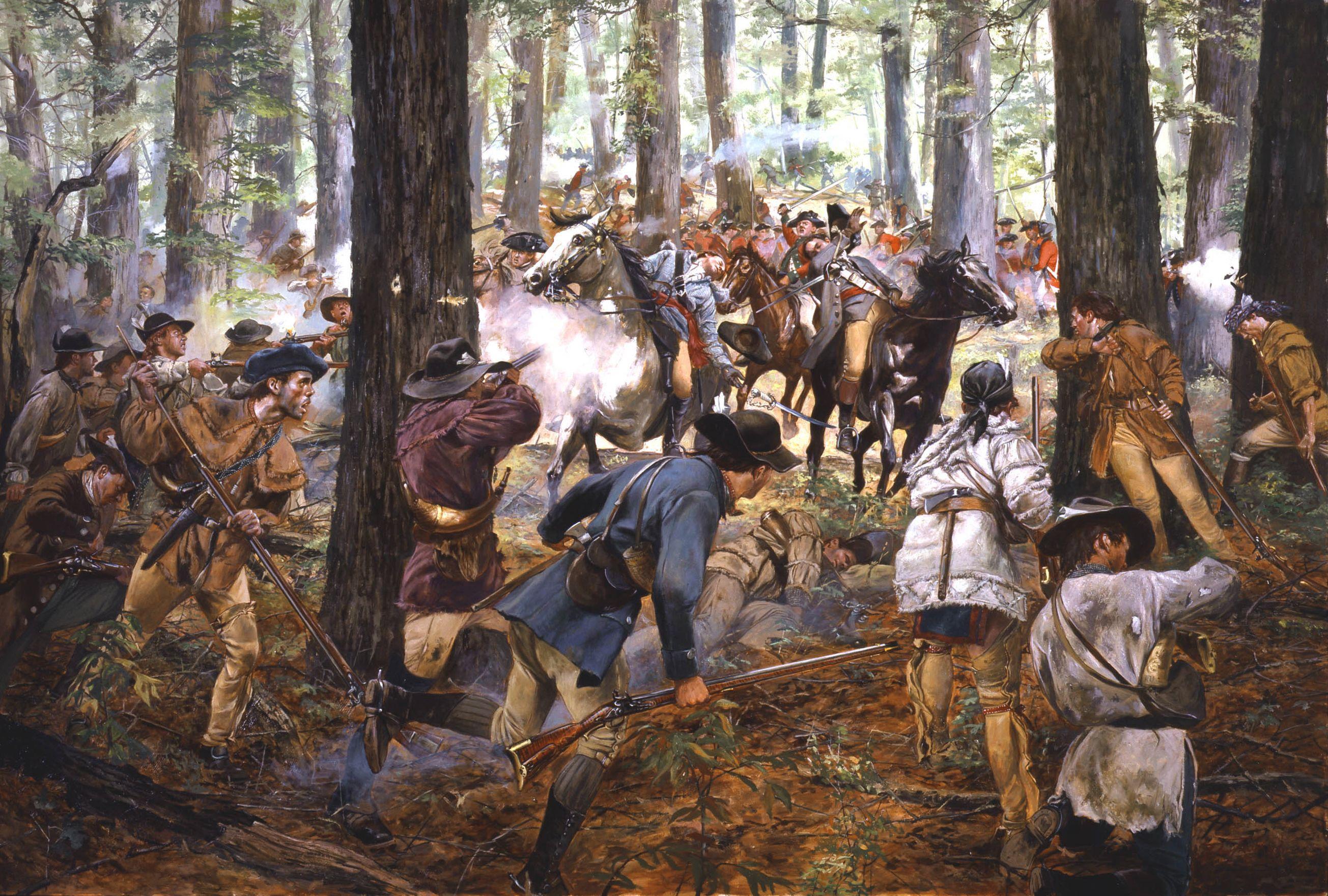 Battle Of King S Mountain