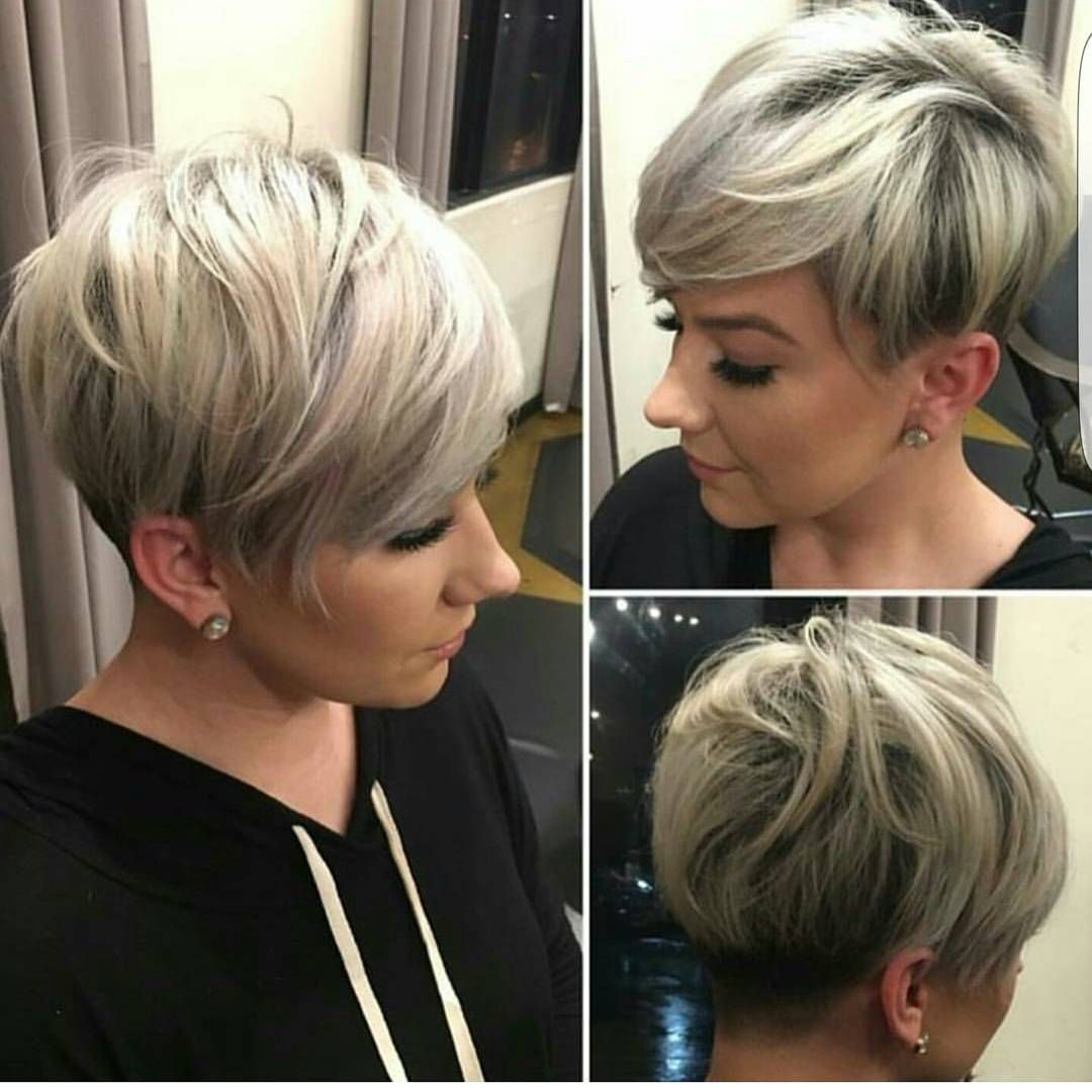 Erstaunlich Kurzhaarfrisuren Frauen Glatte Haare